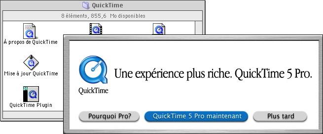 Apple QuickTime 5 Pro
