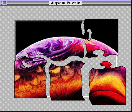 Apple Macintosh System 7.5 Jigsaw Puzzle with iPhone Xs wallpaper