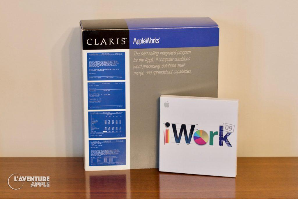 iWork 2009 et AppleWorks 1987