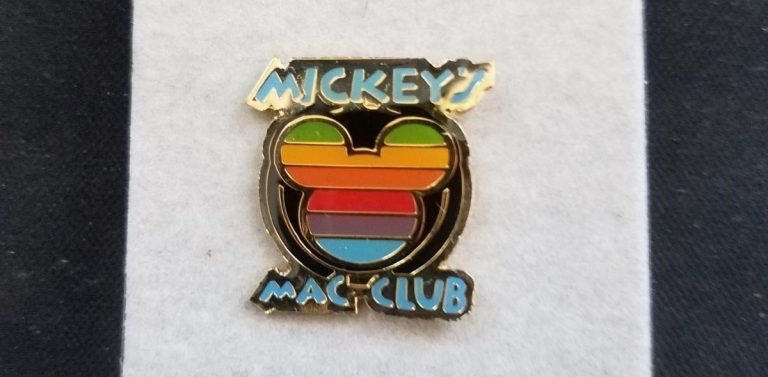 Mickey's Mac Club pin's