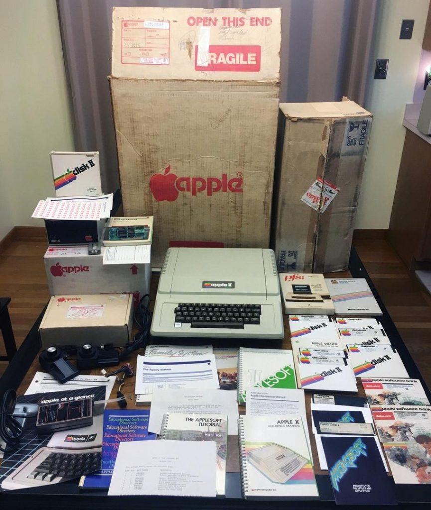 Apple Family System Box on eBay
