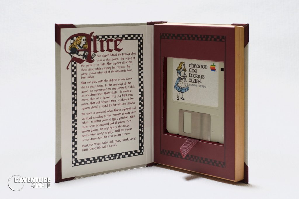 Apple 1984 Macintosh Alice Through the Looking Glass