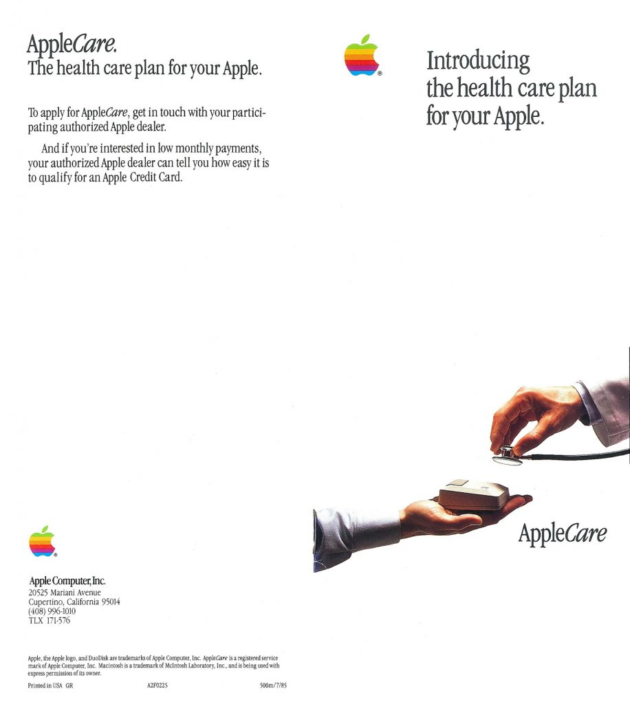 Apple Care, Health Care Plan