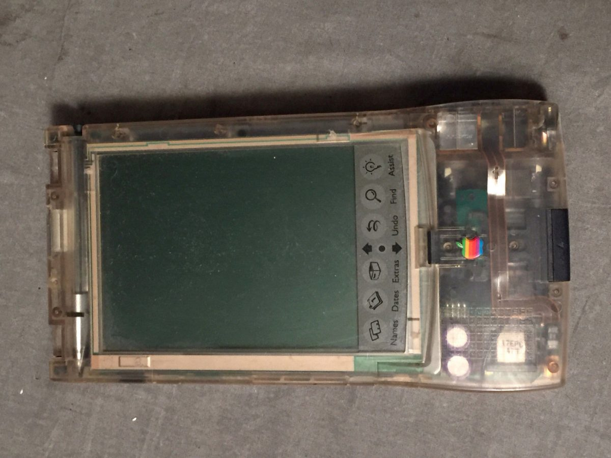 Apple Clear Newton MessagePad 110