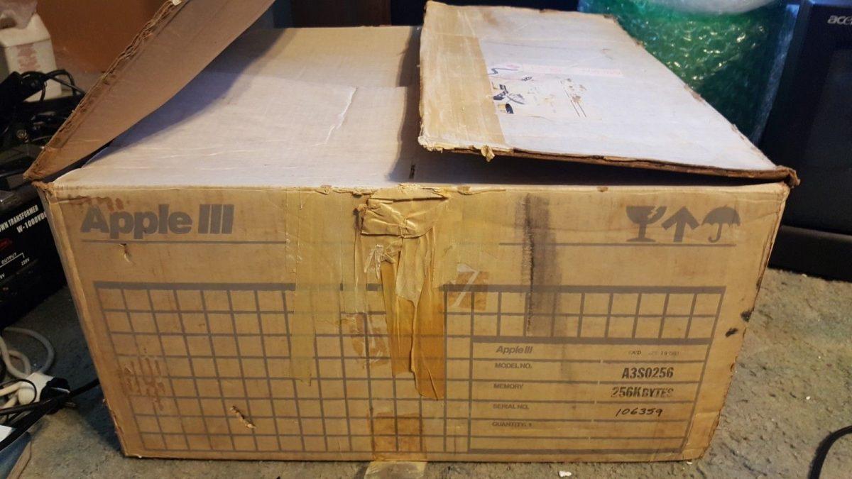 Apple III box eBay