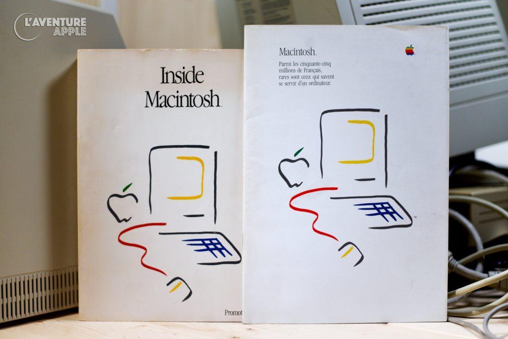 Apple Picasso Logo Macintosh 1984 Inside Macintosh Brochure
