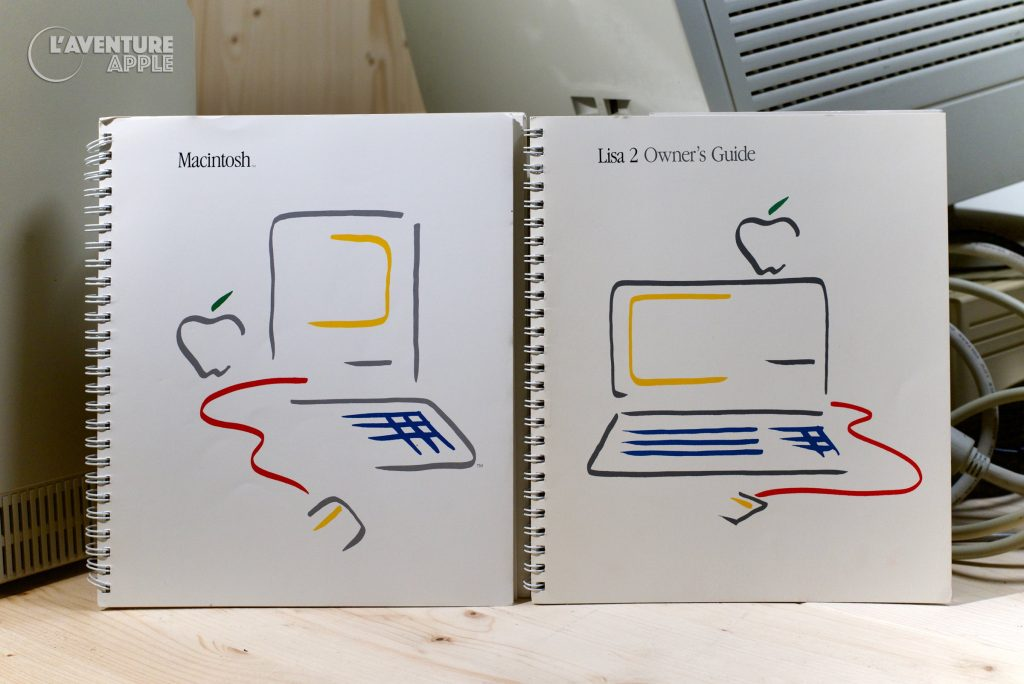 Apple Picasso Logo Macintosh 1984 Lisa 2 manual owner's guide