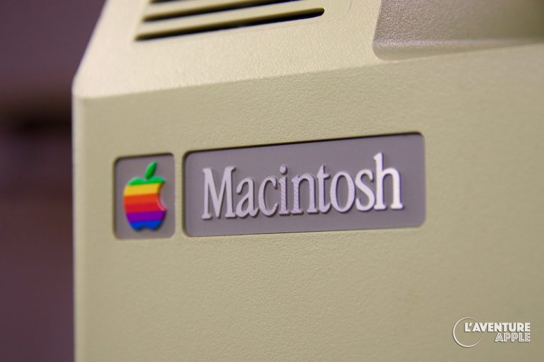 Apple Macintosh étiquette arrière boîtier
