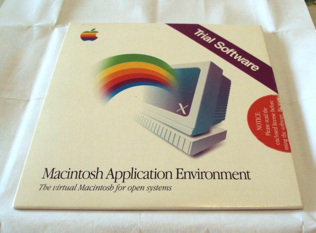 Macintosh Application Environment on Ebay