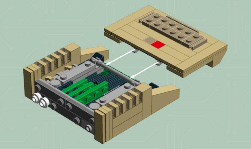 Apple II Lego