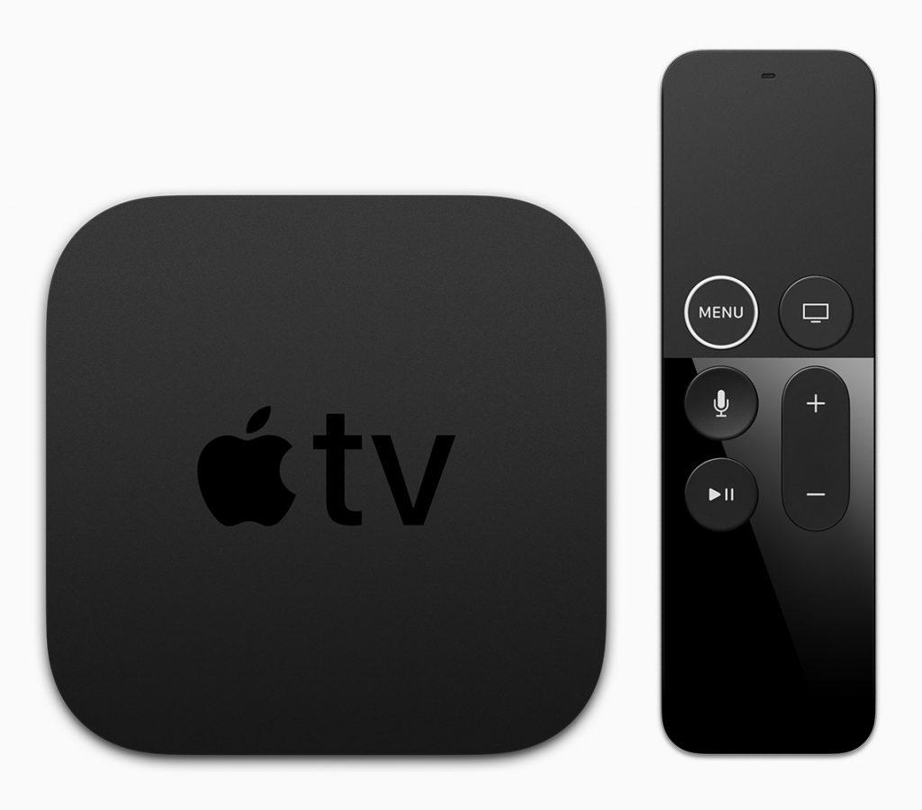 Apple TV 4 et sa télécommande