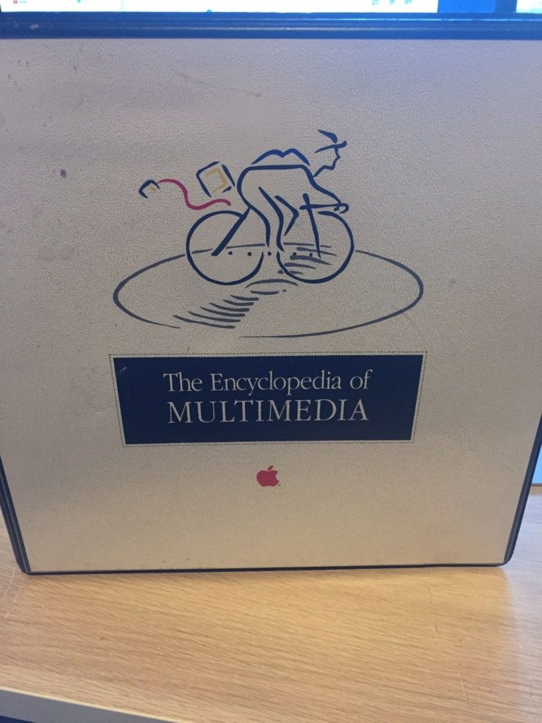 Apple Multimedia Encyclopedia Picasso Loco Bicycle