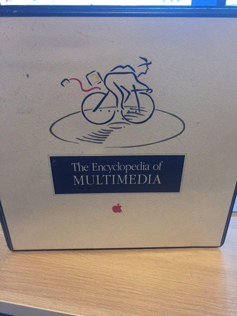 Apple Multimedia Encyclopedia Picasso Loco Bicycle