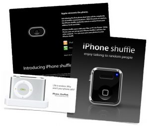 iPhone shuffle projects
