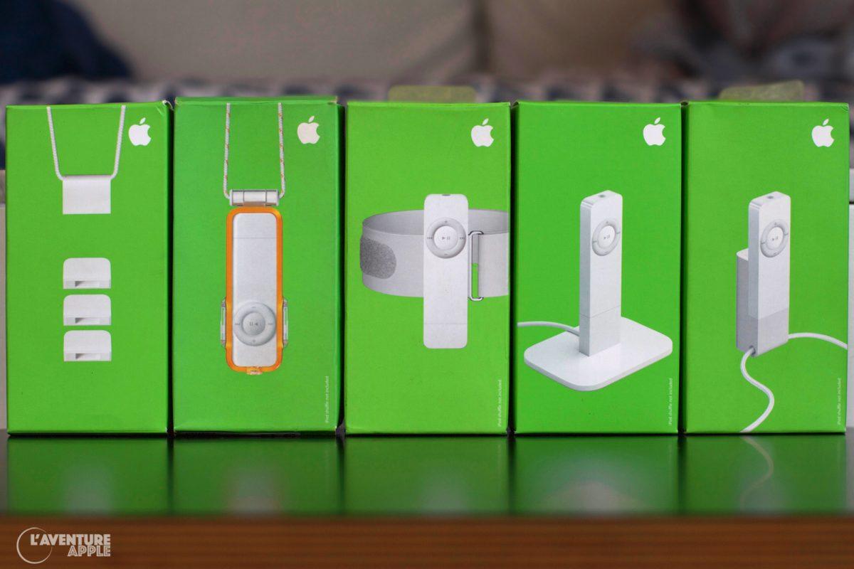 Les accessoires de l'iPod Shuffle 1G