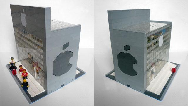 Apple Store en Lego