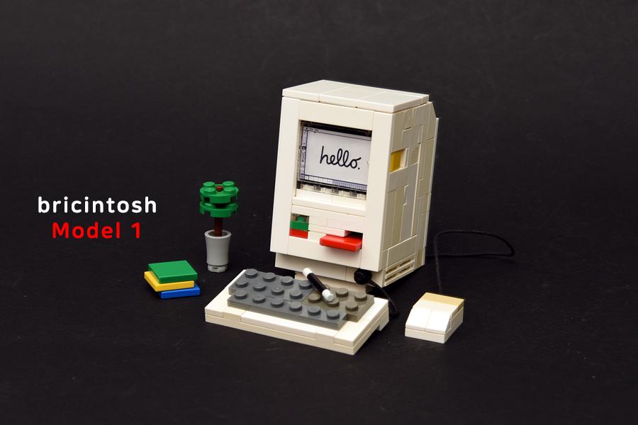 LEGO COMPUTER BRICINTOSH