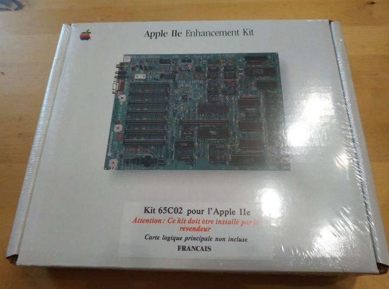 Kit de mise à jour APple IIe enhancement kit, french