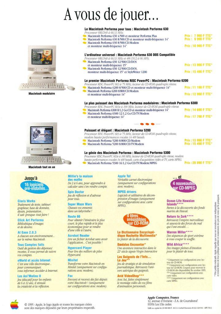 Publicité Apple Les Guignols de l'Info 1995