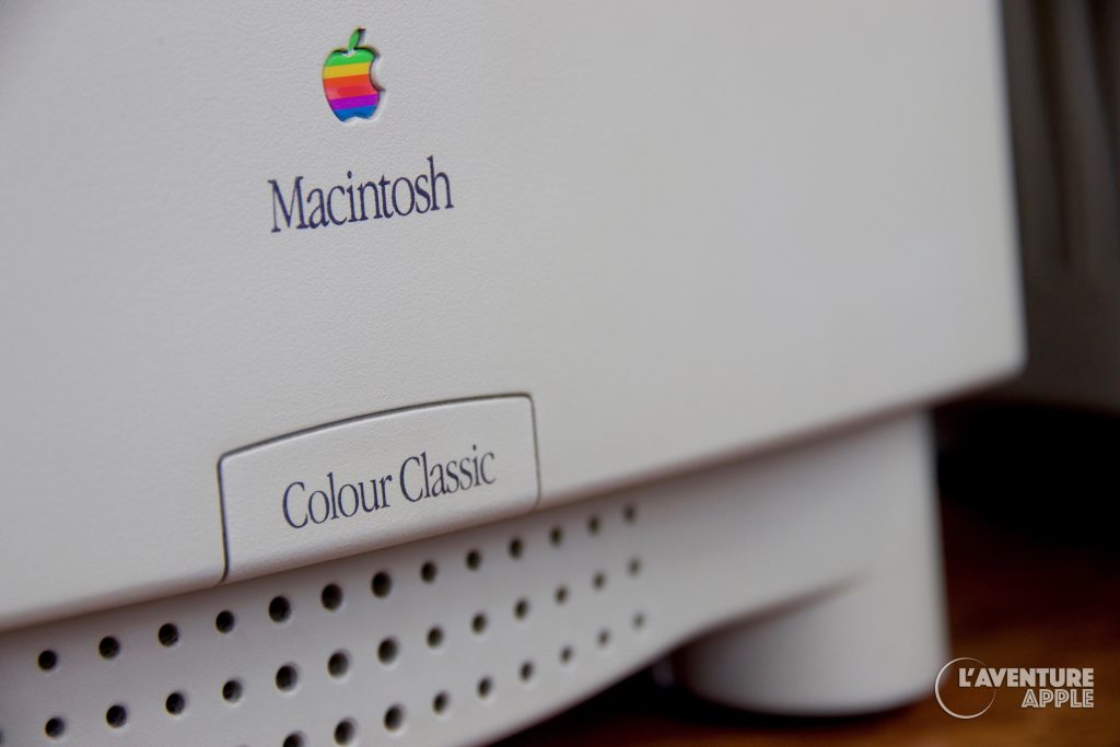 Apple Macintosh Color Classic Name Label
