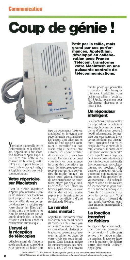 Apple Djinn France Telecom - Apple News