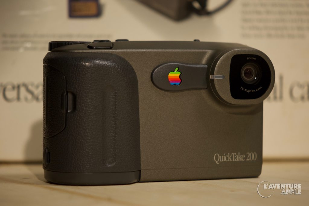 Apple QuickTake 200 front with box