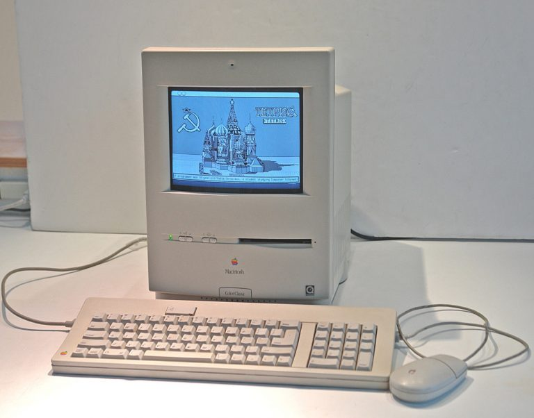 Color Classic Tetris Screen