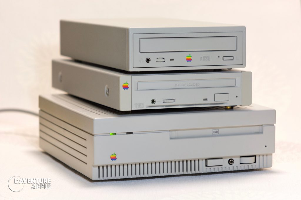 AppleCD SC Plus, 300 and 300e Plus