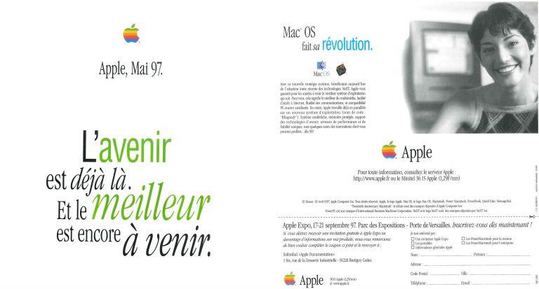 Apple NeXT Brochure Rhapsody 1997