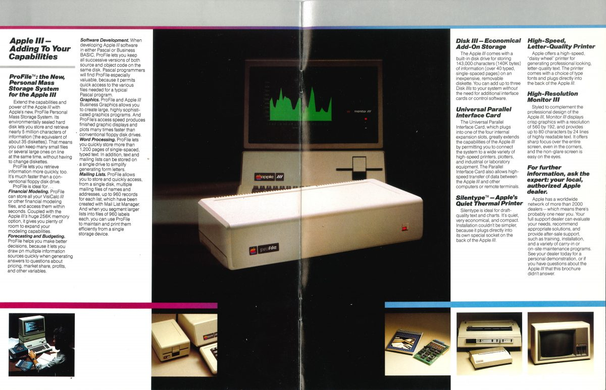 Apple III brochure 1981