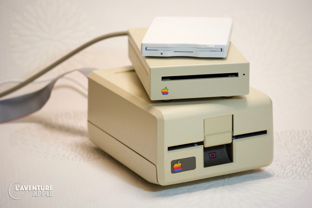 Apple III, Macintosh and USB floppy disk drive