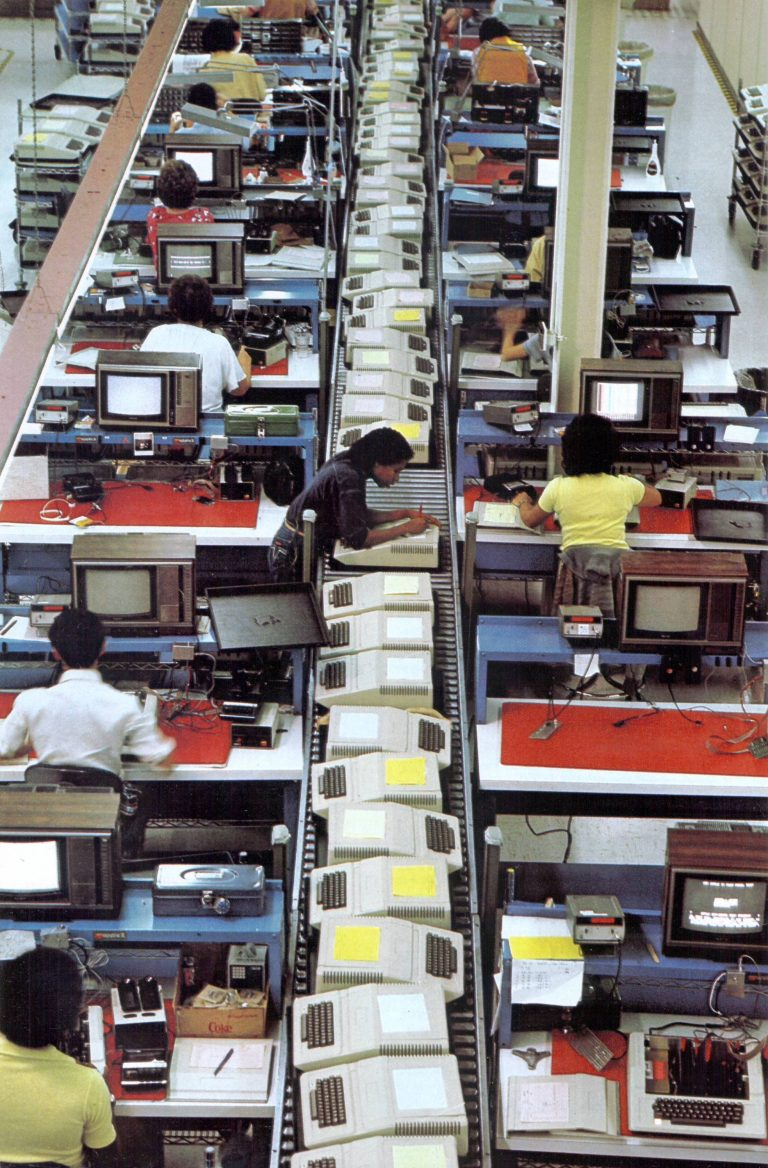 Apple II Manufacturing Line