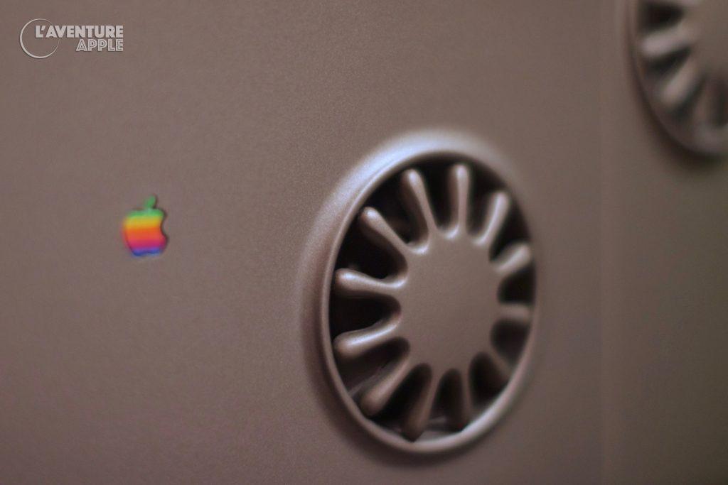Apple Spartacus Twentieth Anniversary Macintosh back fan and logo