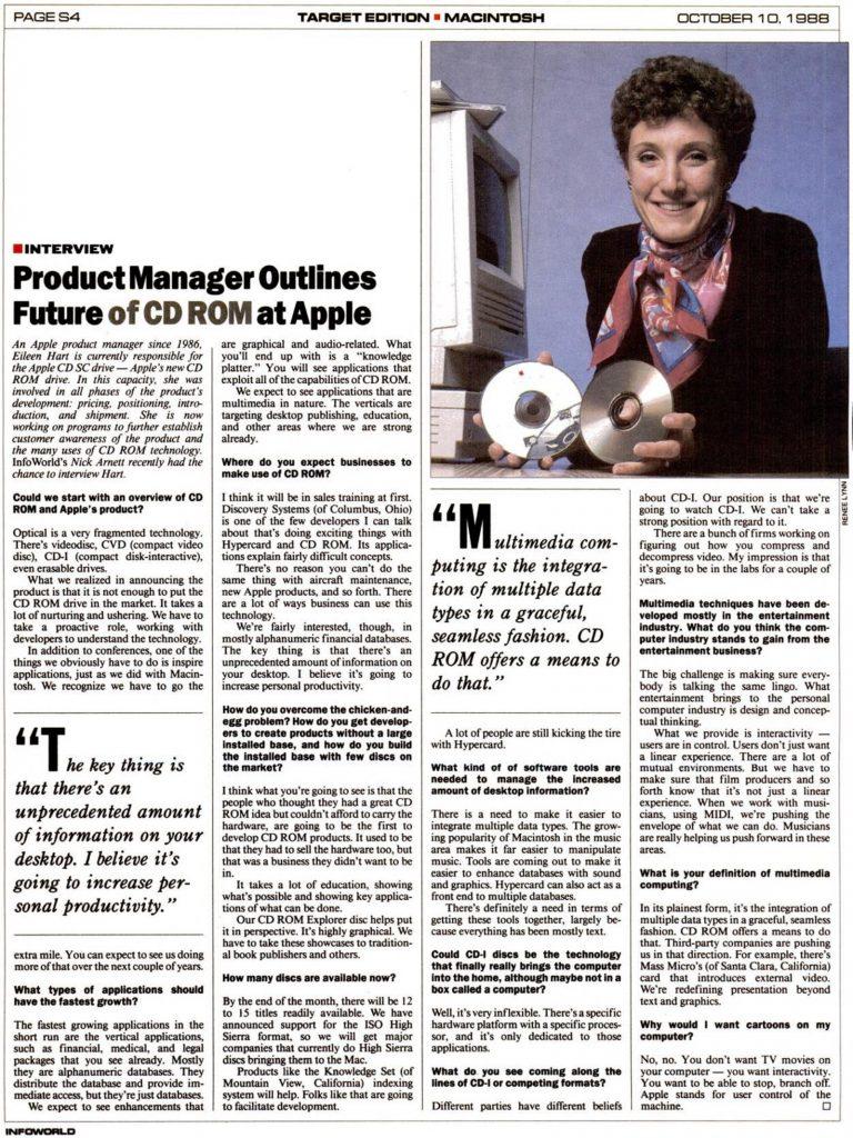 InfoWorld 10 octobre 1988