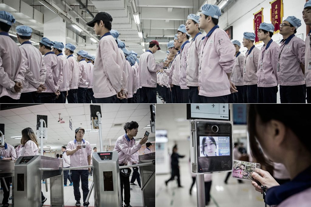 Shangai Apple Pegatron Plant