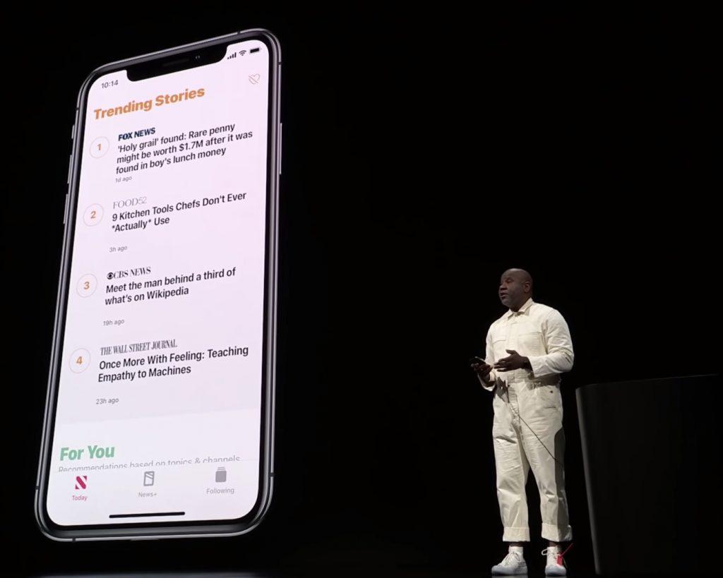 Wyatt Mitchell Apple Keynote March 2019