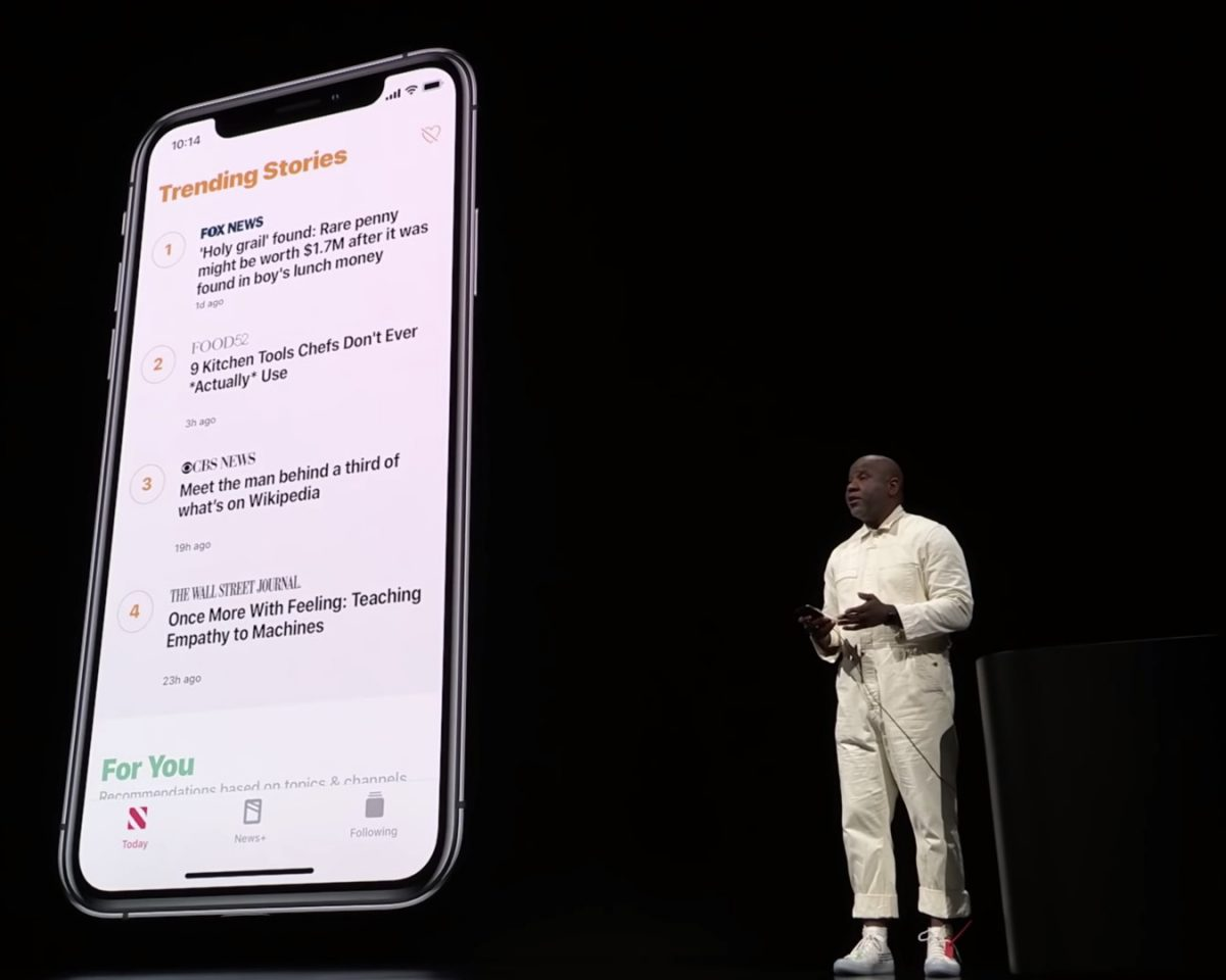Wyatt Mitchell Apple Keynote March 2019
