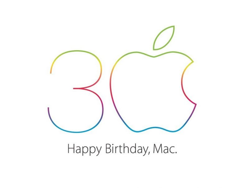 Apple Happy Birthday Mac - 30