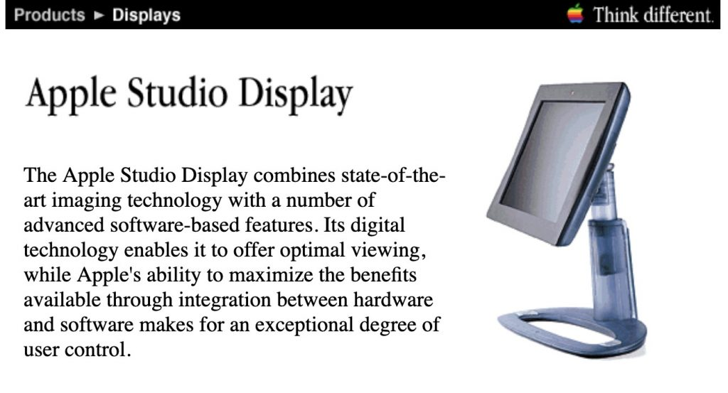 Apple Studio Display 1998 M6356LL