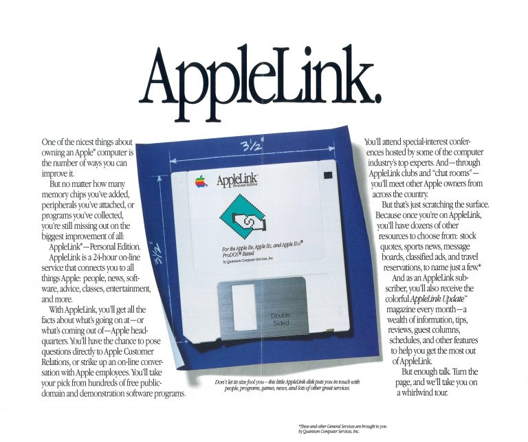 AppleLink 1988 brochure