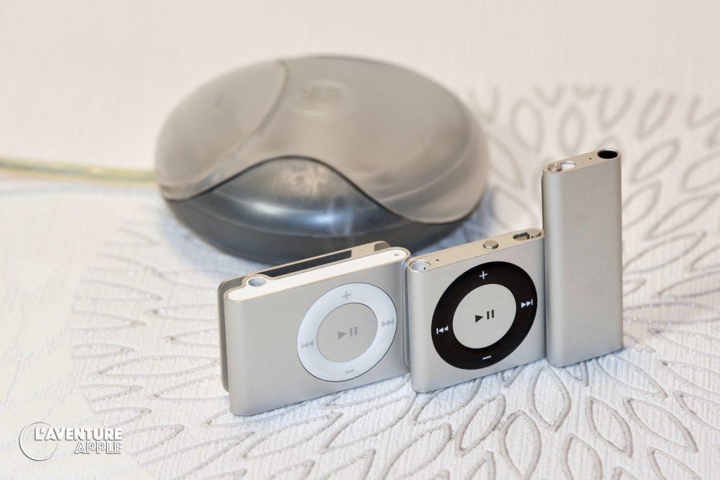 Colors iPod Shuffle - Grey + USB Mouse