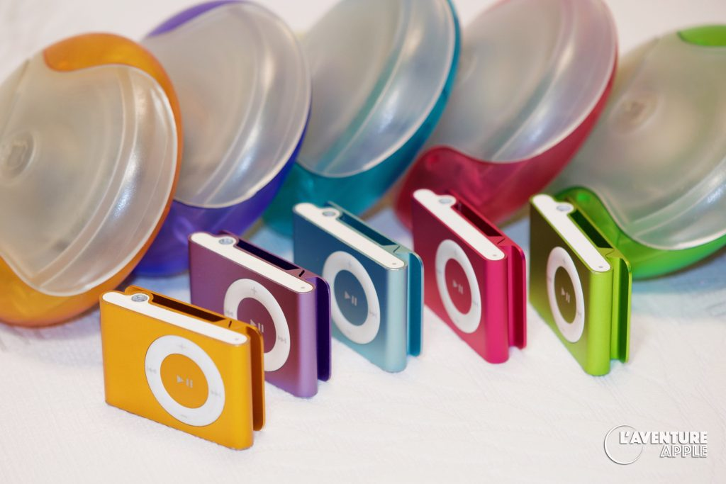 Colors iPods Shuffle + USB Mice