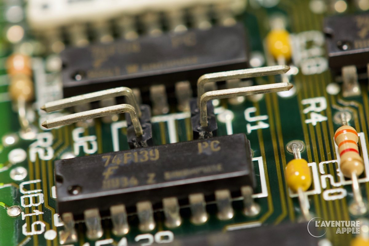 Apple IIgs memory expansion card 256k 512 1024 jumper