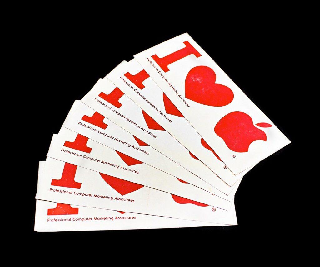 professional computer marketing associates Apple Bumper Sticker