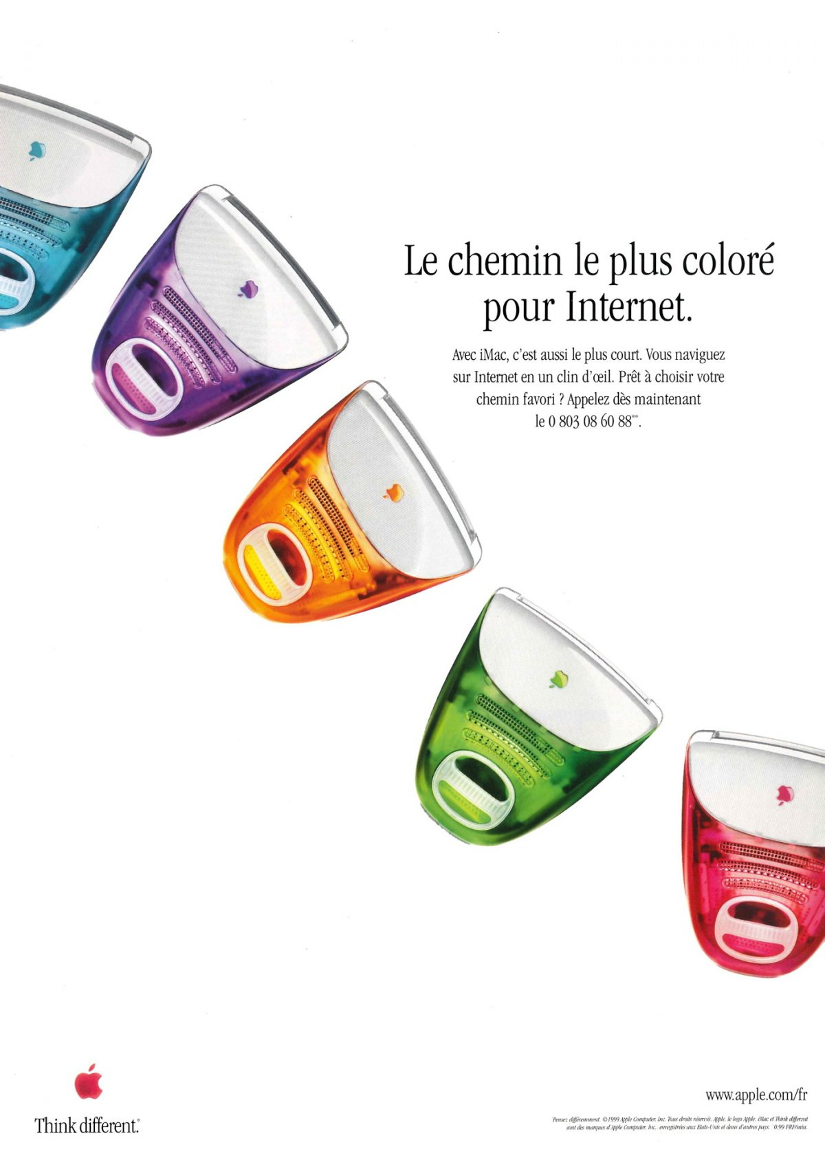Apple 1999 iMac colors Yum Miam