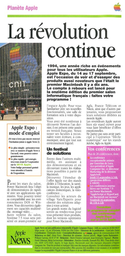 Apple Expo 1994