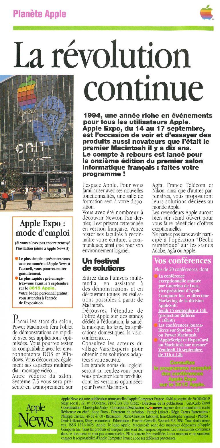 Apple Expo 1994