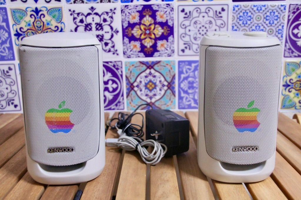 Kenwood AS-3 Apple speakers (fake)