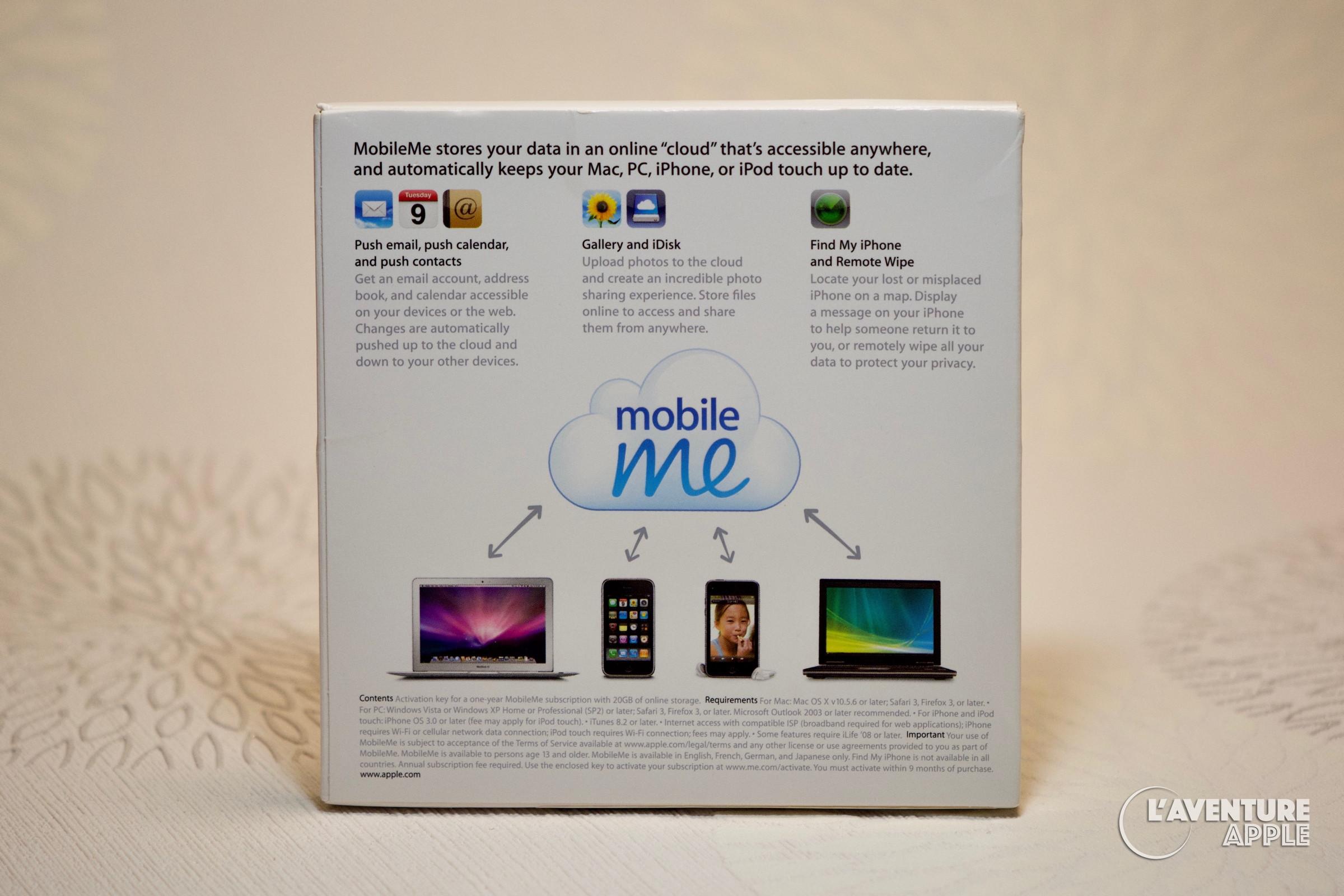 Une boîte de Cloud pour MobileMe – Le Blog de l'Aventure Apple
