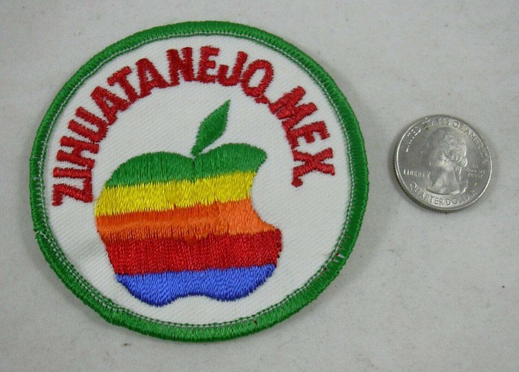 Zihuatanejo Apple Ecusson